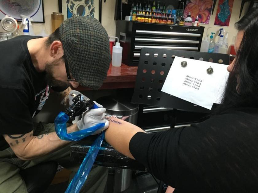 tattoo process